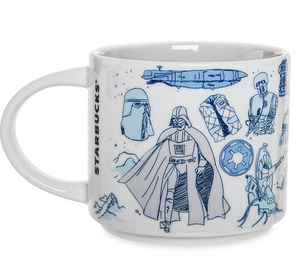 Disney Starbucks Been There Star Wars Hoth Ceramic Coffee Mug New with Box