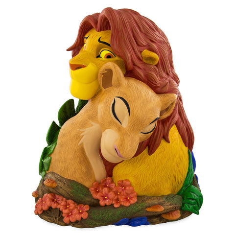 Disney 20th Animal Kingdom Lion King Simba and Nala Figurine Statue New with Box