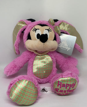 Disney Parks Minnie Bunny 2020 Happy Easter Plush New with Tag