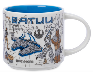 Disney Starbucks Been There Star Wars Batuu Ceramic Coffee Mug New with Box