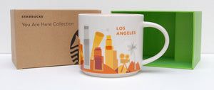 Starbucks You Are Here Los Angeles California Ceramic Coffee Mug New with Box