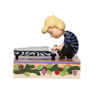 Jim Shore Peanuts Schroeder with Musical Piano Figurine New with Box