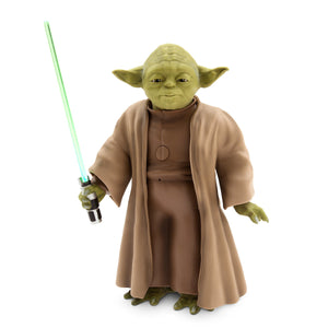Disney Parks Star Wars Yoda Talking Figure New with Box