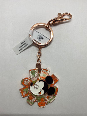 Disney Flower and Garden Festival 2020 Mickey Spinning Keychain New with Tag