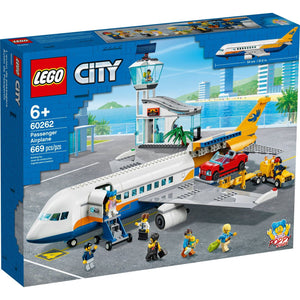 Lego 60262 City Passenger Airplane Construction Set New with Sealed Box