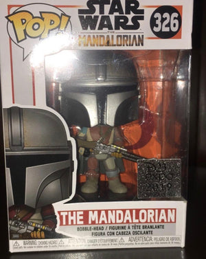 Disney D23 Expo 2019 Funko Pop Star Wars The Mandalorian New with Box