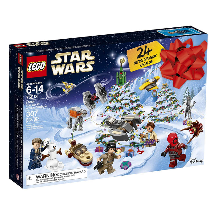 Lego 75213 Star Wars 2018 Advent Calendar Christmas 307 Pieces New with Box
