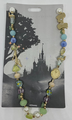 Disney Parks Jewelry Kingdoms Castles Cinderella Necklace New with Card