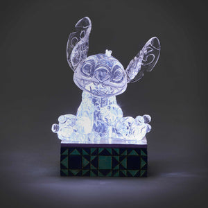 Disney Jim Shore Ice Bright Stitch Light-Up Figurine New with Box