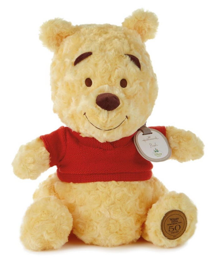 Hallmark Winnie the Pooh 50th Anniversary Plush New with Tag