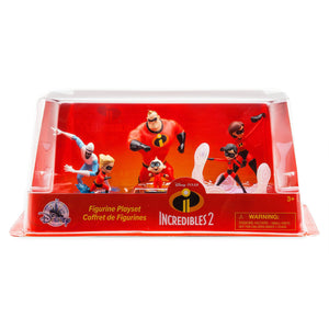 Disney Store The Incredibles Figure Play Set Playset Cake Topper Violet Dash New