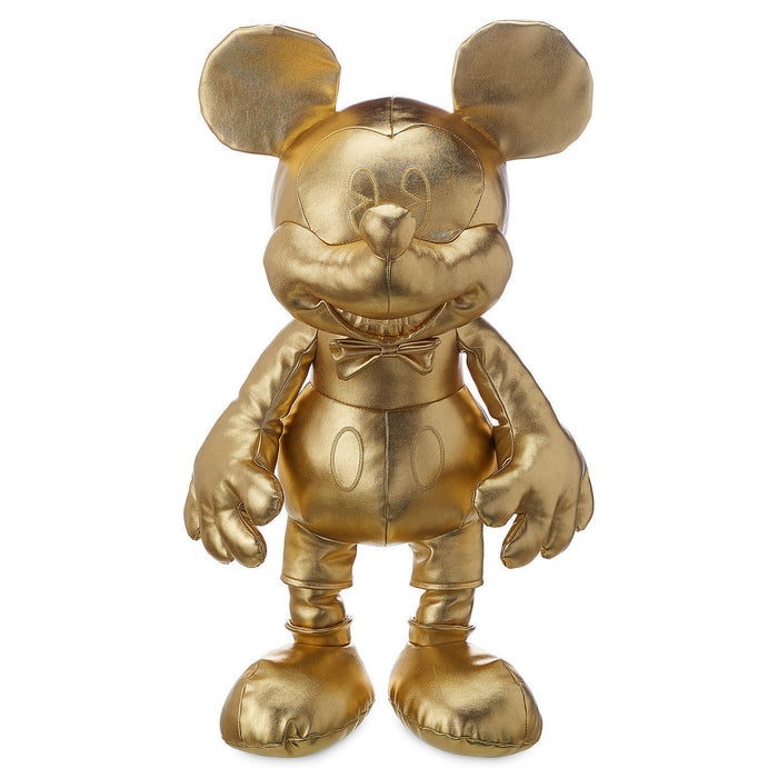 Disney Mickey The True Original Gold Collection Large Plush New with Tags