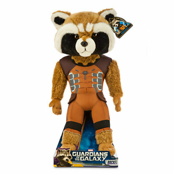Disney Marvel Guardians of the Galaxy Rocket Plush New with Box