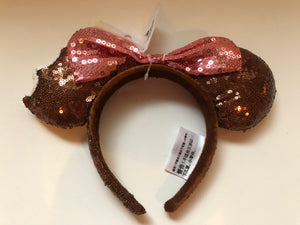 Disney Parks Minnie Ice Cream Sequined Headband New with Tag