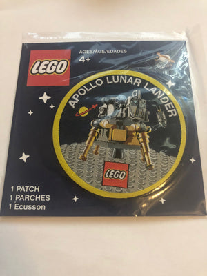 Lego Apollo Lunar Lander Limited Patch New Sealed