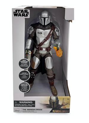 Disney Star Wars The Mandalorian Talking Action Figure New with Box