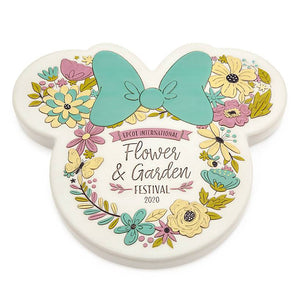 Disney Epcot Flower Garden Festival 2020 Minnie Mouse Stepping Stone New