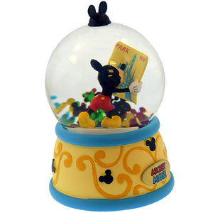 Disney Parks Snowglobe Mickey Magic Kingdom Travels New