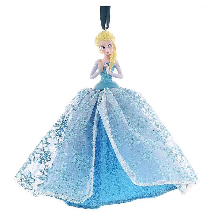 disney parks christmas holiday frozen elsa tulle ornament new with tags