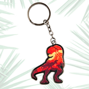 Universal Studios Jurassic World Dinosaur Keychain New with Tags