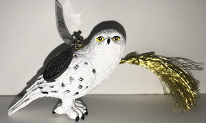 Universal Studios Harry Potter Hedwig Snowy Owl Christmas Ornament New