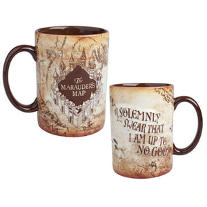 Universal Studios The Wizarding World Of Harry Potter Marauder's Map Mug New