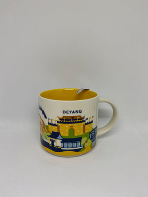 Starbucks You Are Here Collection Deyang China Ceramic Coffee Mug New With Box