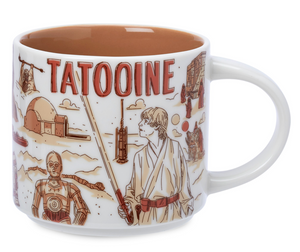 Disney Starbucks Been There Star Wars Tatooine Ceramic Coffee Mug New with Box