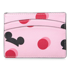 Disney Mickey Mouse Ear Hat Credit Card Case Pink Kate Spade New York New w Tag