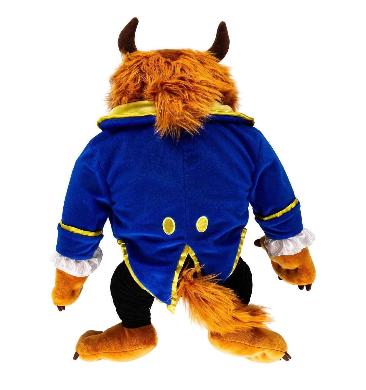 Disney Parks Beauty And The Beast Plush 18 Inc The Beast New With Tag I Love Characters