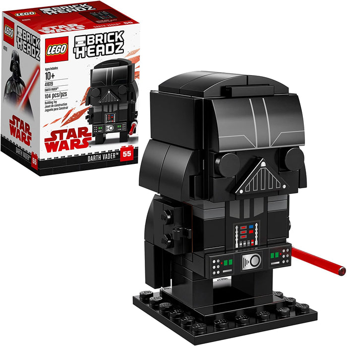 Lego 41619 BrickHeadz Star Wars Darth Vader 104 Pieces New with Box
