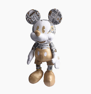 Disney Disneyland Shanghai 90th Anniversary Mickey Plush New with Tags
