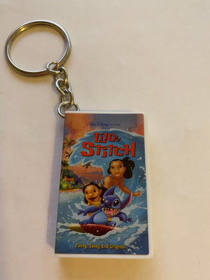 Disney Store Mystery VHS Keychain Lilo and Stitch New with Box