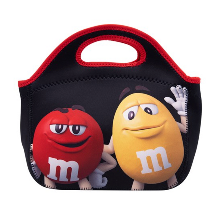M&M's World Red and Yellow Characters Insulated Tote New with Tag