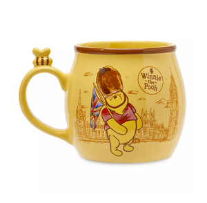 Disney Parks Epcot Winnie the Pooh England London is the Best Adventure Mug New