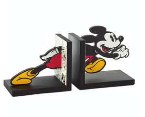Hallmark Disney Mickey Mouse Comic Strip Bookends New