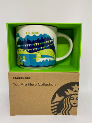 Starbucks You Are Here Collection Lijiang China Ceramic Coffee Mug New With Box