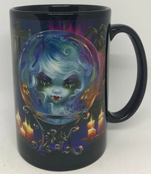 Disney WonderGround Gallery Ceramic Coffee Mug Madame Leota Griffith New