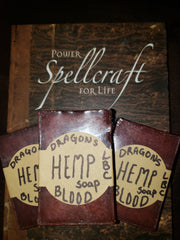 Dragons Blood Hemp bar soap