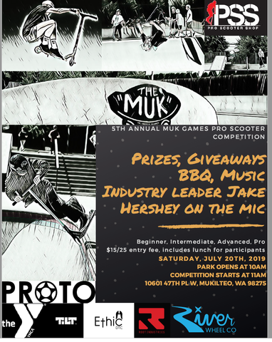 the muk games pro scooter event