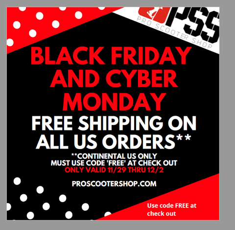 free shipping pro scooter shop
