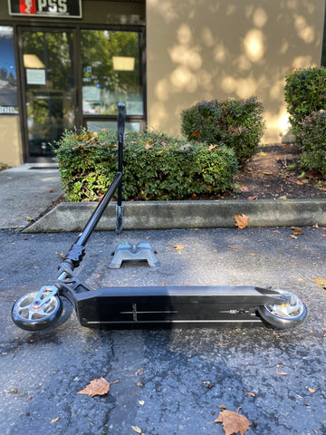 custom pro scooter black ethic lucky envy