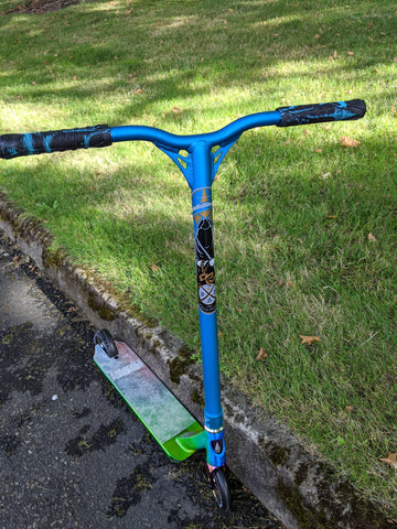 Custom Pro Scooter - Candy Blue - Envy Lucky Fasen