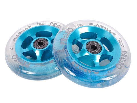 proto scooters plasma wheels 110mm blue