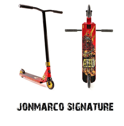 complete pro scooter jmg jonmarco lucky scooters signature