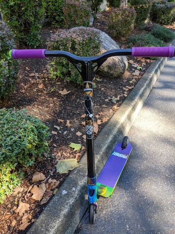 custom pro scooter fasen envy purple candy