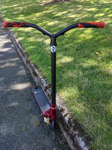 custom pro scooter lucky envy fasen red