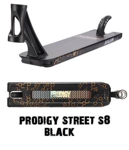 envy scooters prodigy s8 street scooter deck black