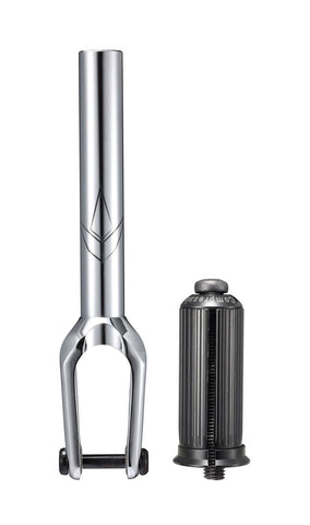 envy sob v3 ihc scooter fork matte chrome