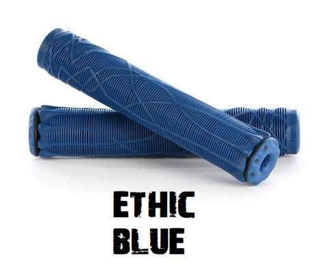 ethic scooter grips blue